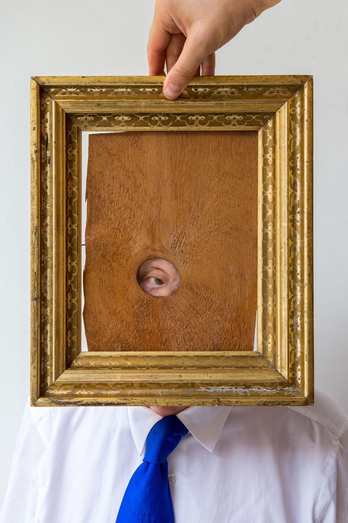 Peep Hole Portrait, 2017