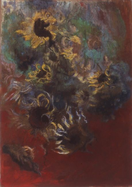 Pompeii No. 2, 2005, Pastel on paper