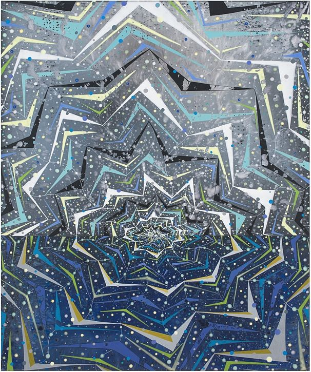 Barbara Takenaga, Lift II, 2015