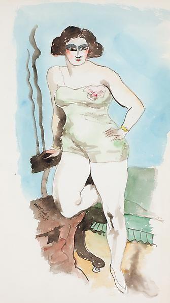 Study for Sheba, 1925