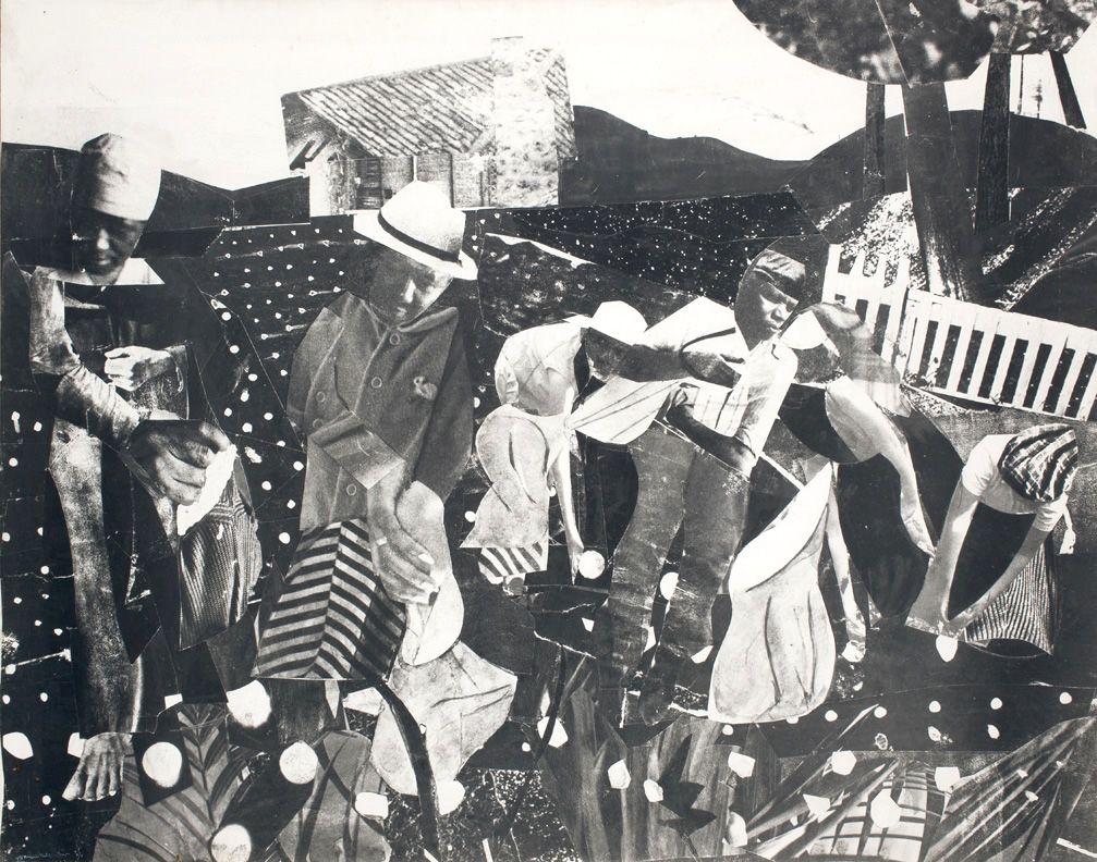 Cotton, 1964 Photostat on fiberboard