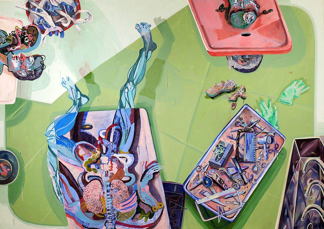 Sharon Madanes, Cut Three Ways, 2015