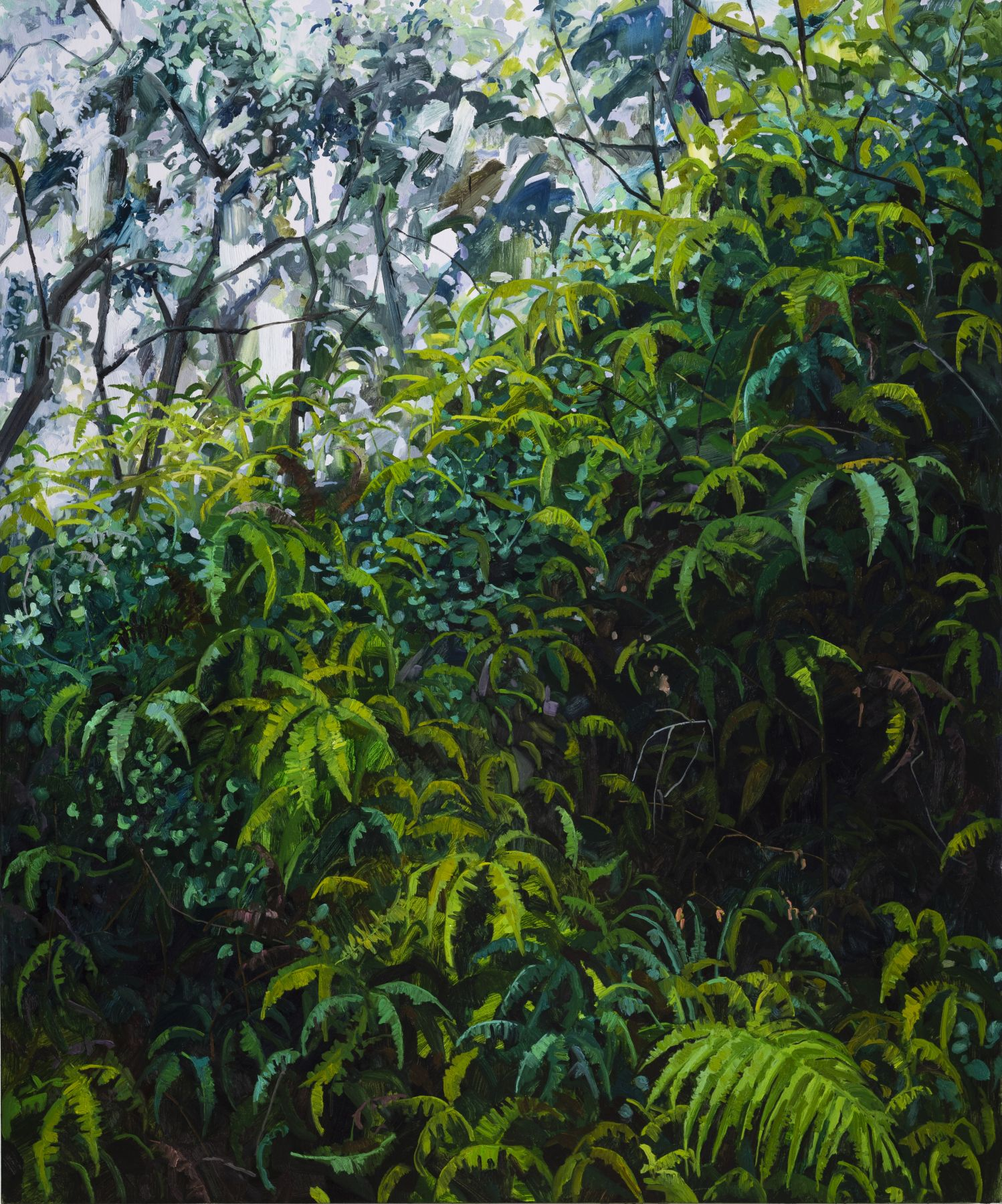 Ferns, 2018 Oil on canvas