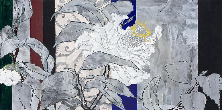 Robert Kushner, Patriotic Camellia, 2012