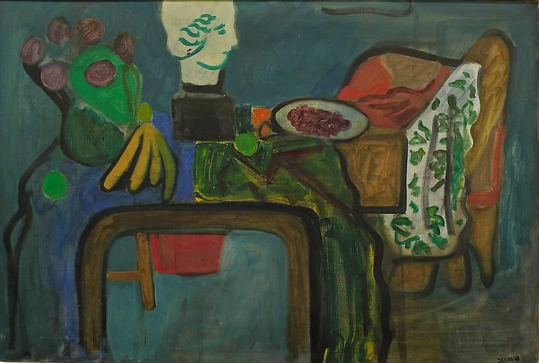 Untitled, 1960 Oil on linen, 36 x 54 inches