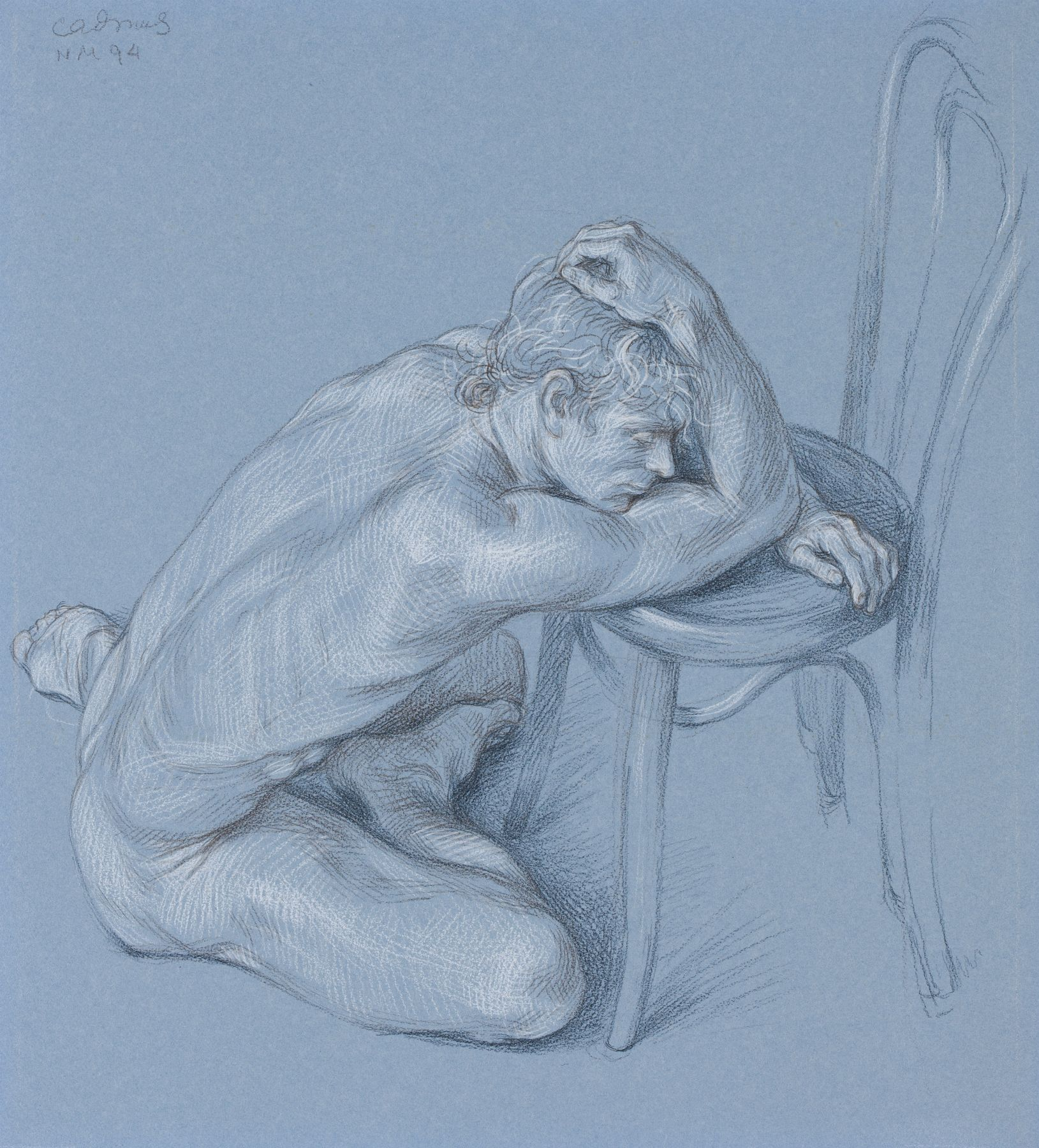 Male Nude NM94, 1972