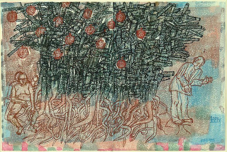 Arpita Singh, Tree, 2005