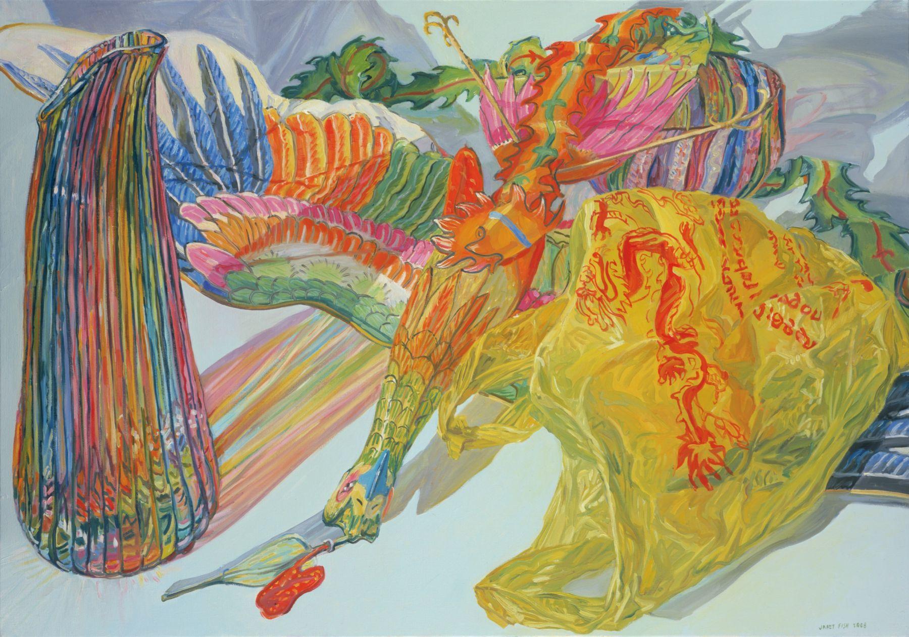 Phoenix Kite, 2008, Oil on canvas
