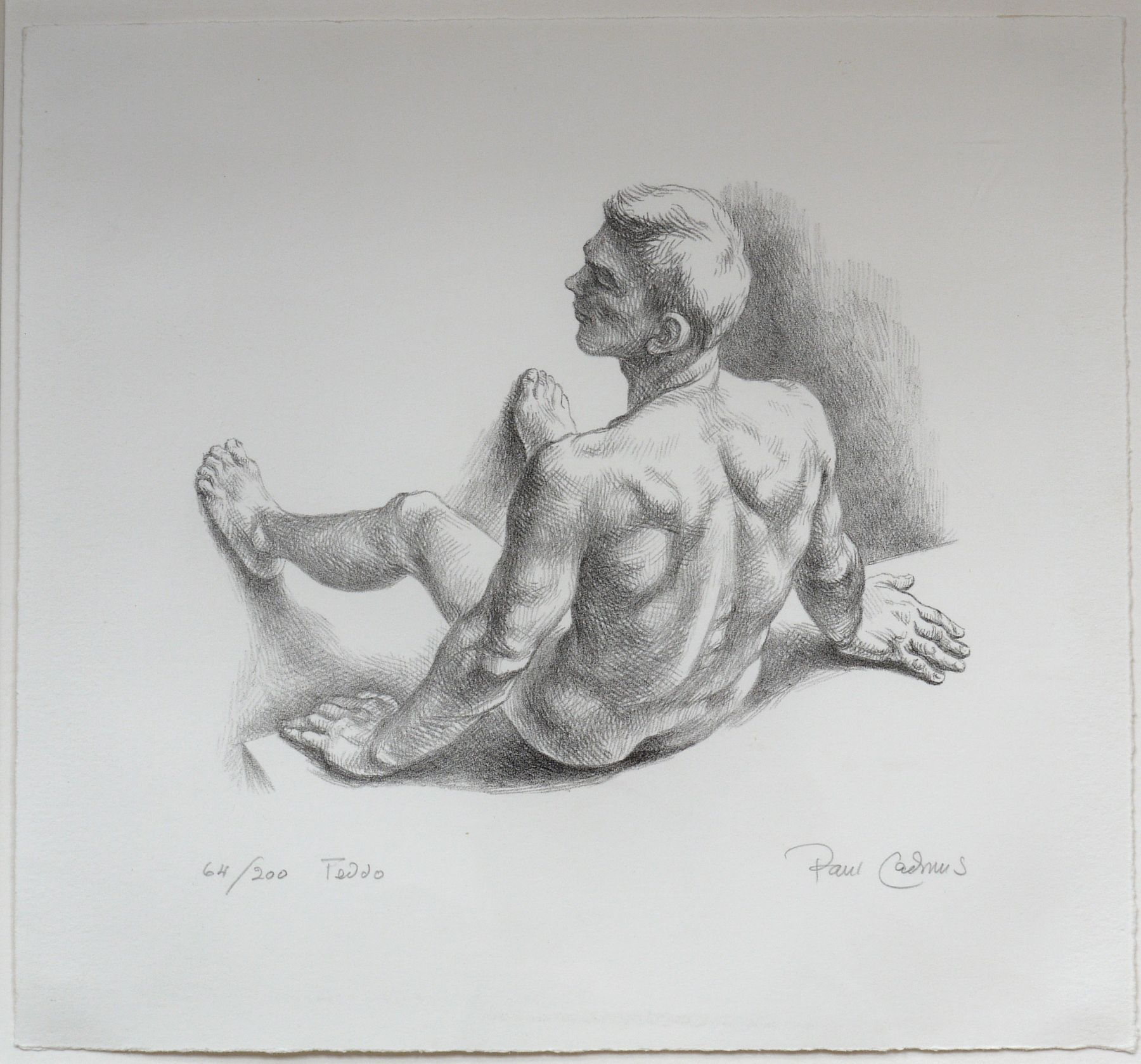 Teddo, 64/200, 1985 Lithograph on paper