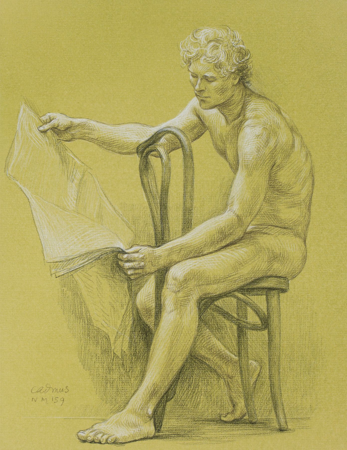 Male Nude NM159, c. 1979