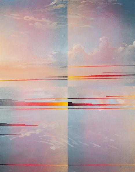 Mark Innerst Quartered Landscape, 2014
