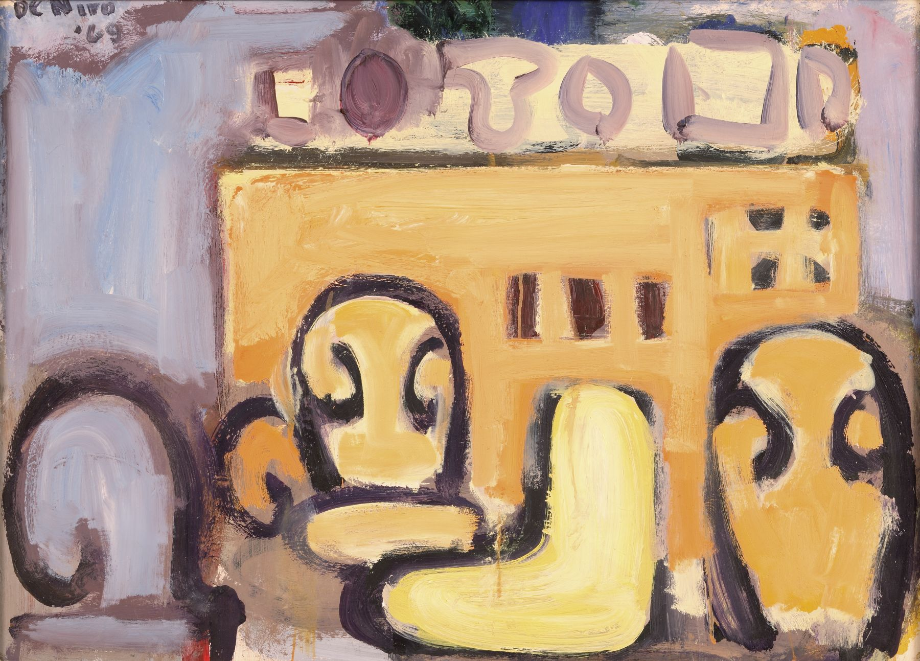 Interior with Still Life and Chairs, 1969