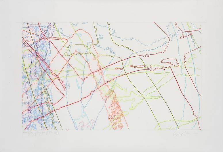Ingrid Calame, #305 Drawing (Tracings from Buffalo, NY), 2008