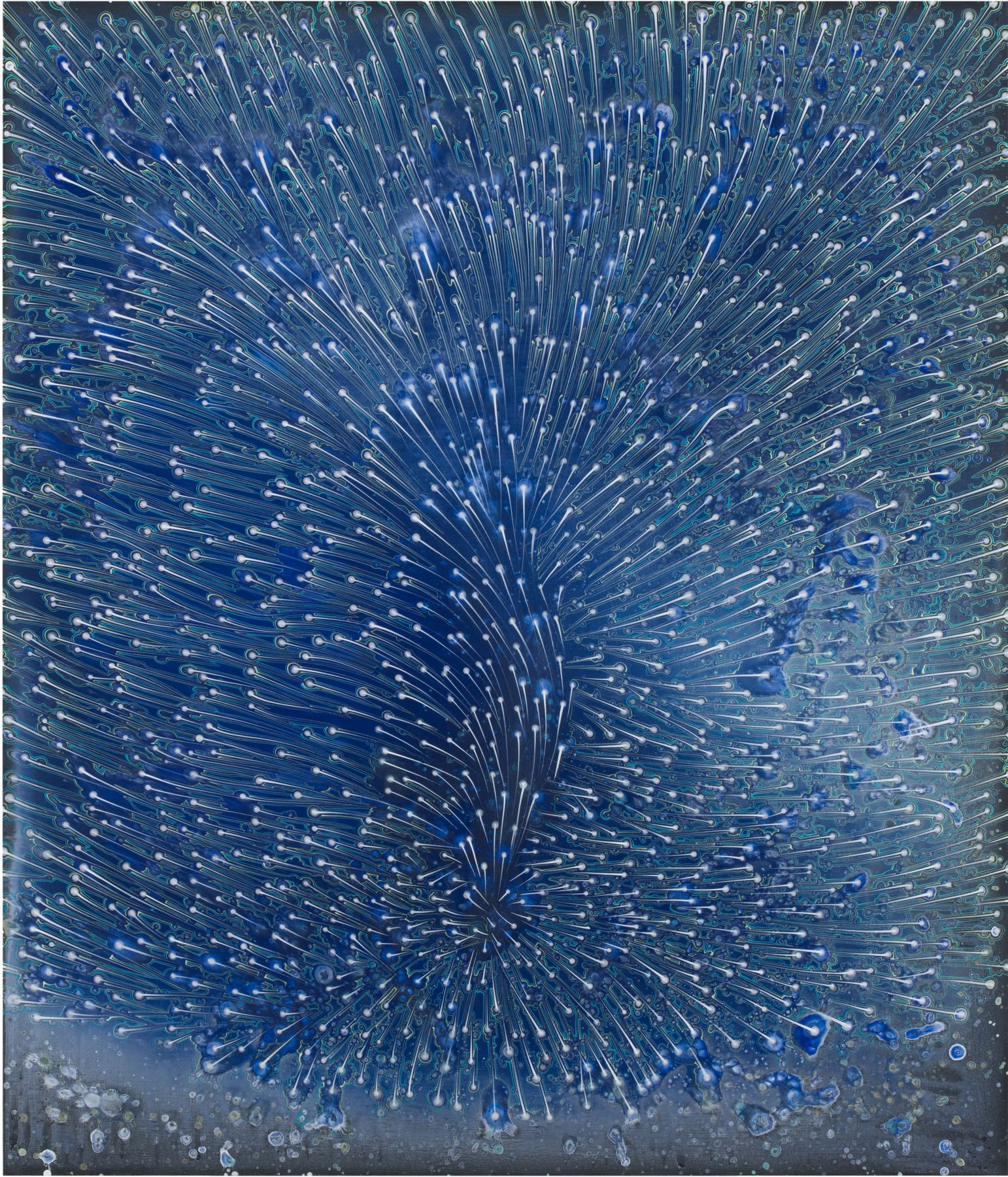 Blue Air, 2017, Acrylic on linen