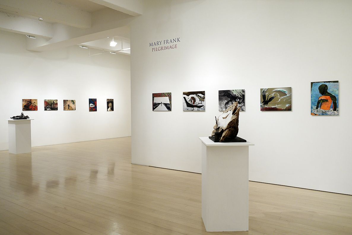 Mary Frank Pilgrimage: Photographs and Recent Sculpture