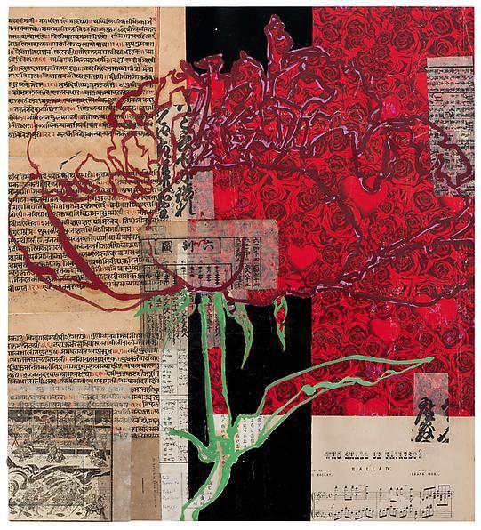 Robert Kushner, Red Peony IV, 2011