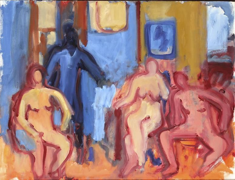 Four Figures, c. 1977