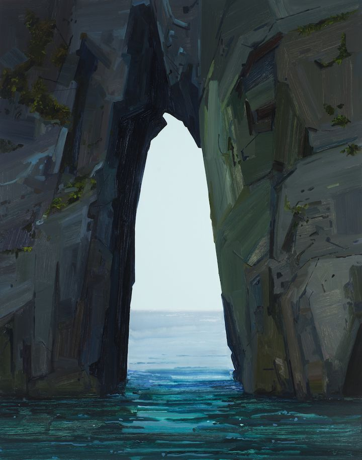 Sea Cave, 2017, Oil on canvas