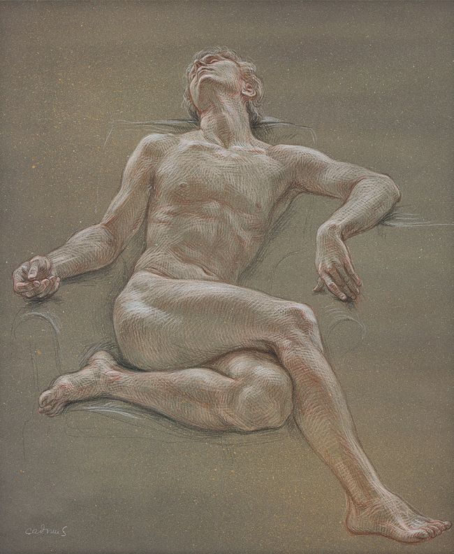 Male Nude NM32, 1967
