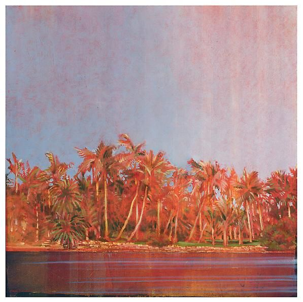 Palms on the Shore #1, 2012