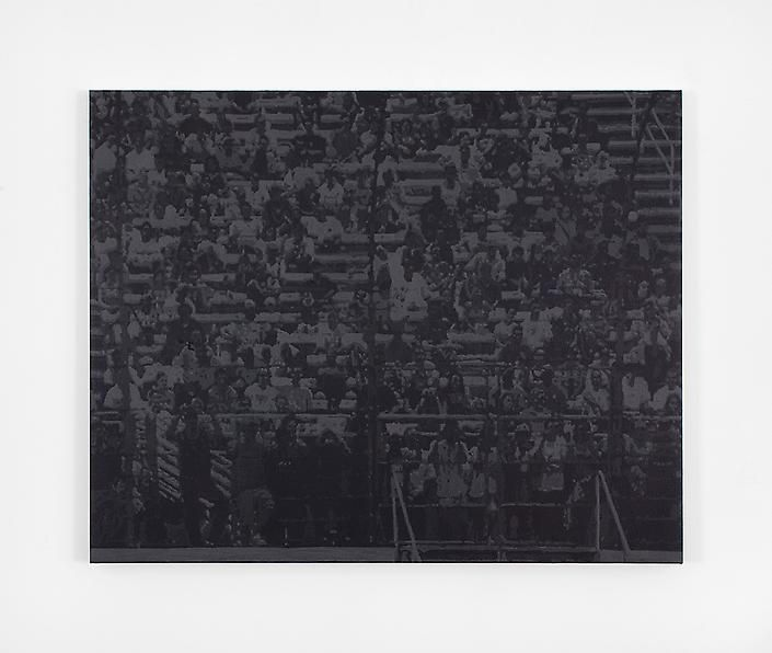 Wayne Gonzales, Waiting Crowd, 2007