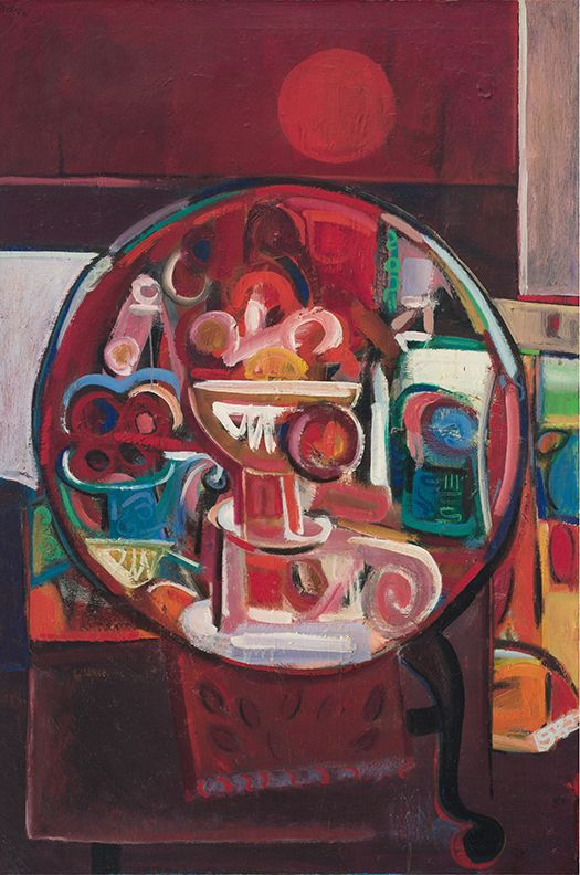 David Driskell, Still Life with Sunset, 1966