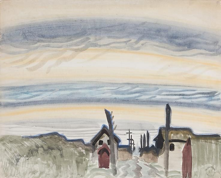Charles Burchfield Early Morning, 1917