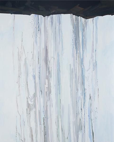 Waterfall, 2014 Oil on canvas, 96 x 78 inches