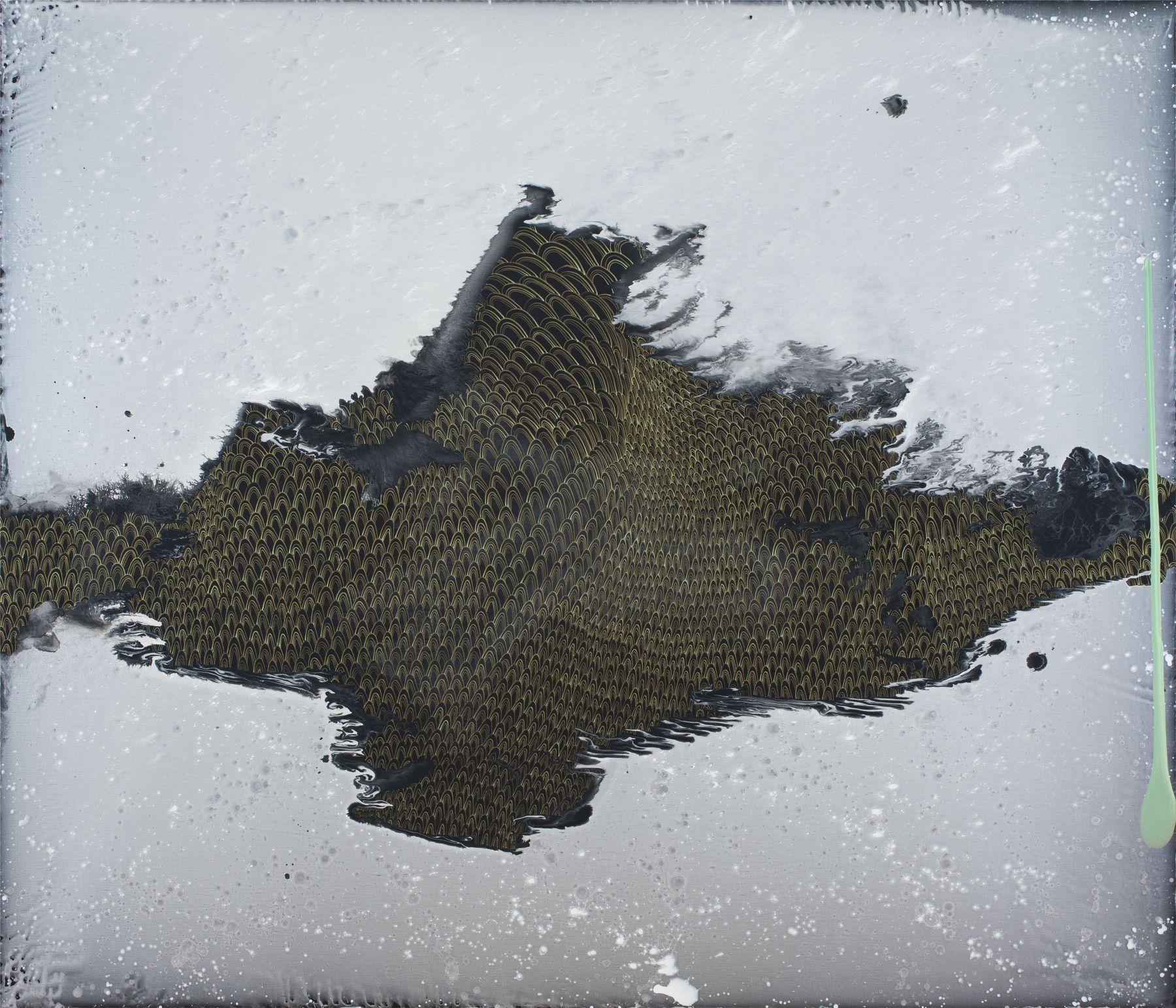 Aeaea, 2018, Acrylic on linen