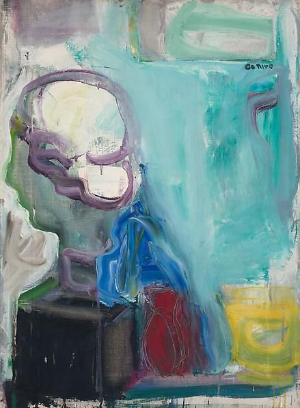 Still Life with Greek Head, 1955
