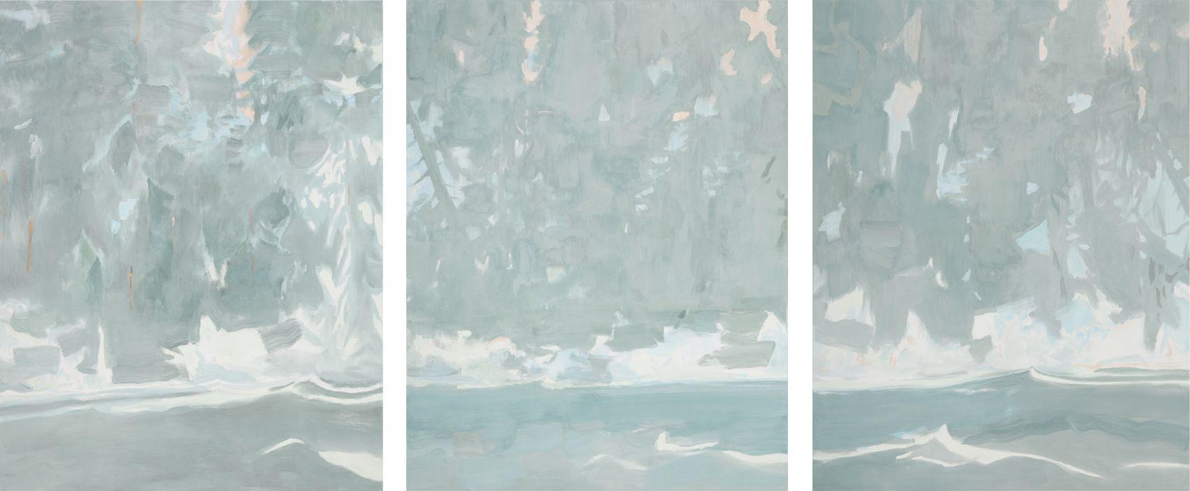 Tidal River I, II, III, 2018