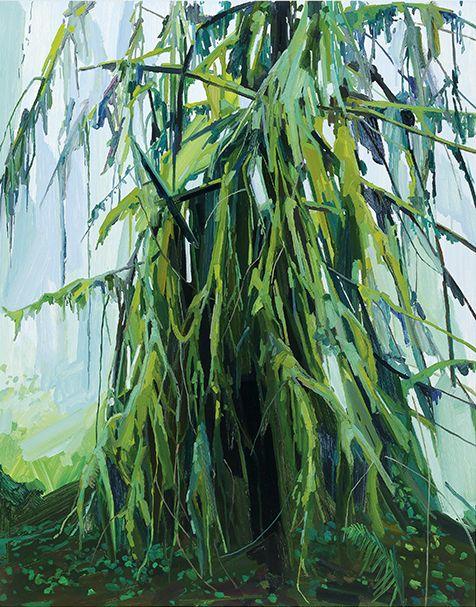 Tree, 2016, Oil on canvas