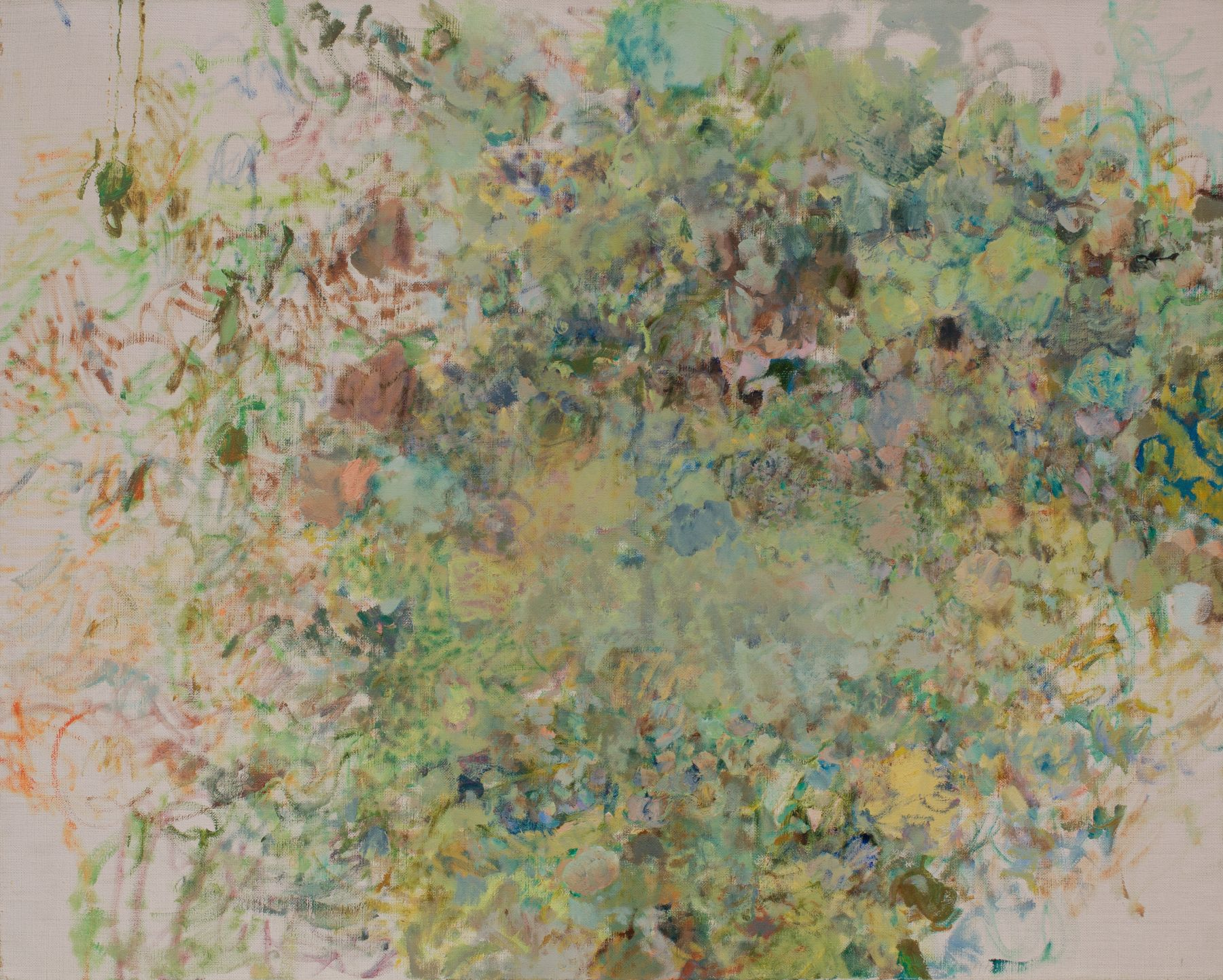 Intermezzo, 1973 Oil on linen