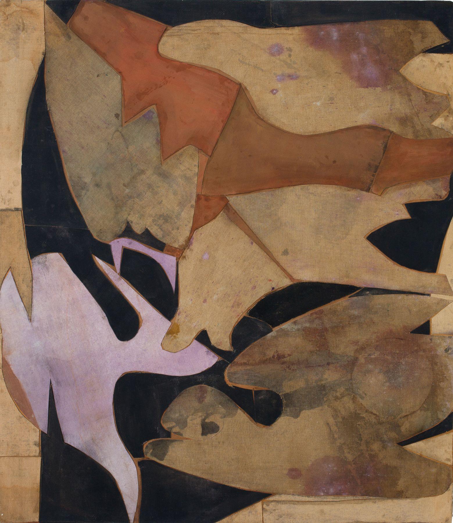 Untitled (beige, brown, pink), n.d.