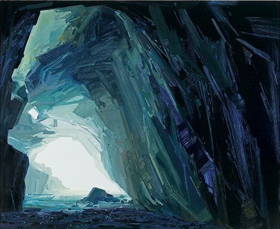 Sea Cave, 2016, Oil on canvas