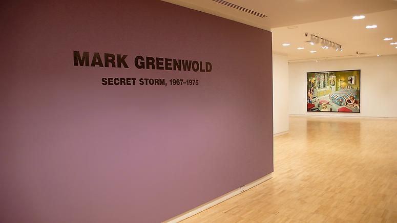 Mark Greenwold: Secret Storm — Paintings 1967 - 1975