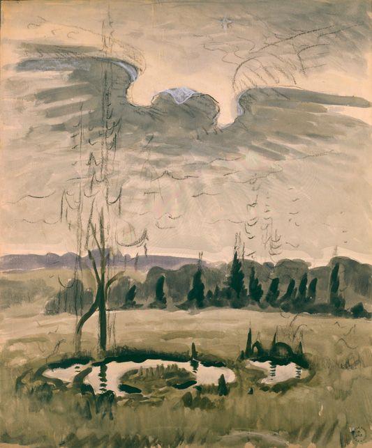 Charles Burchfield, Bird Wing Twilight, 1951