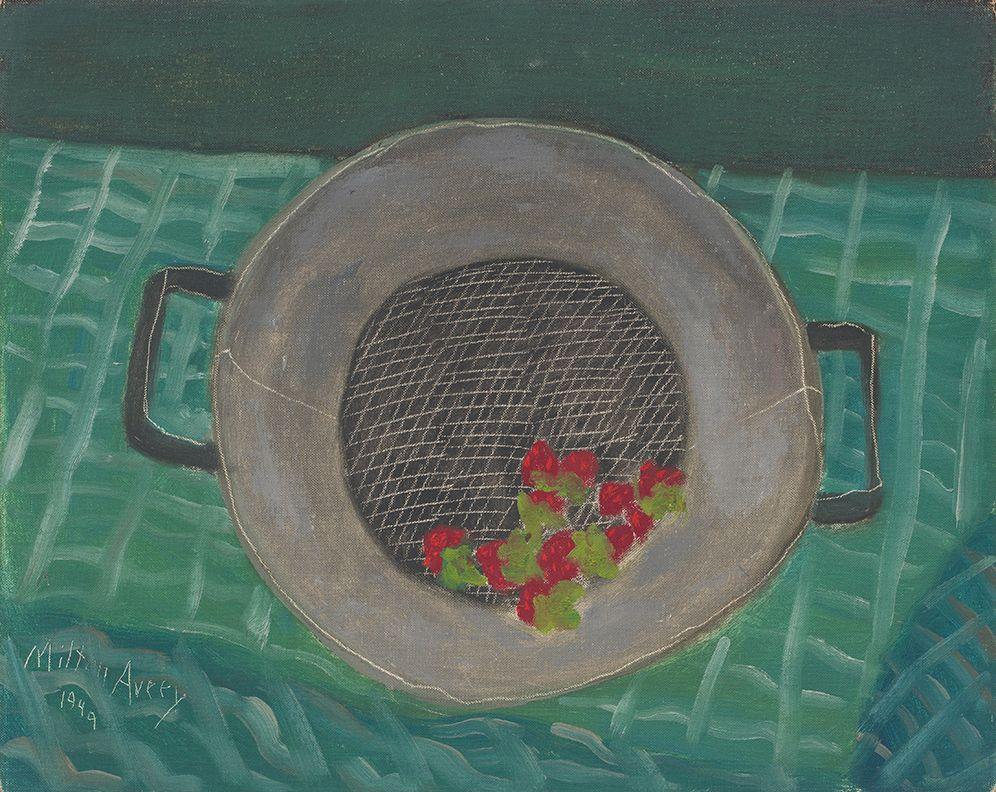 Milton Avery, Fresh Strawberries, 1949