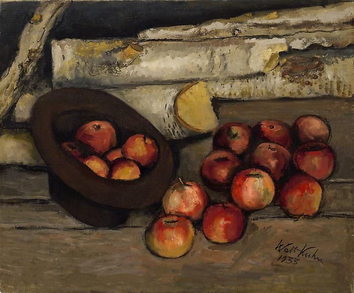 Apples in the Barn, 1933