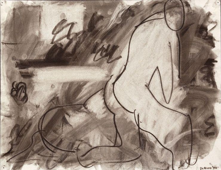 Kneeling Nude Figure, 1979