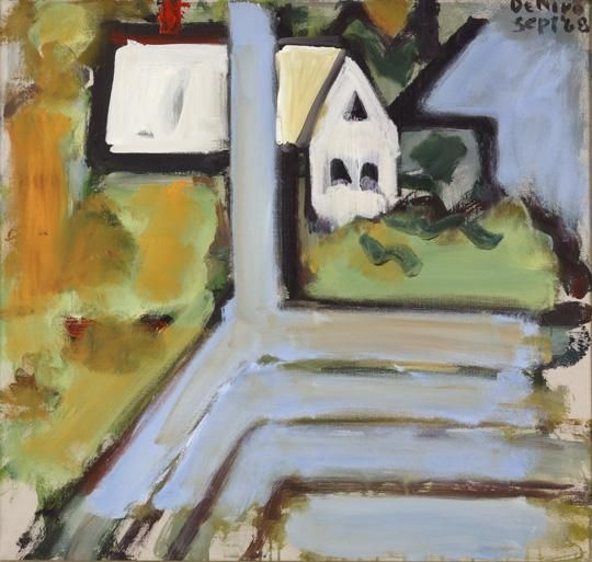 White Building from Blue Porch, 1968