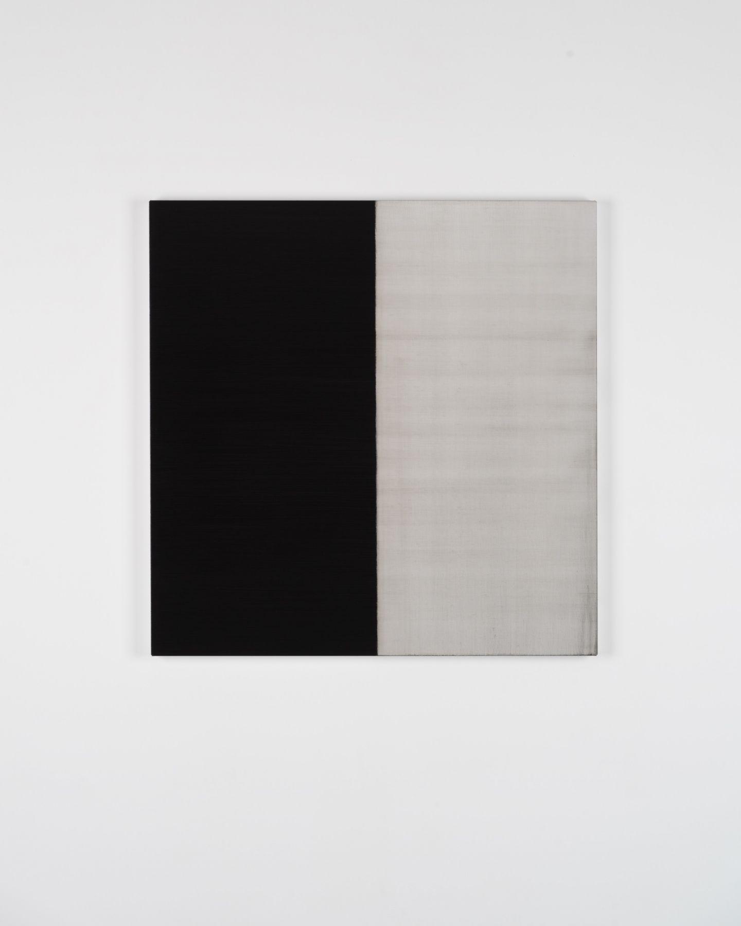 CALLUM INNES Untitled Lamp Black No. 24, 2018