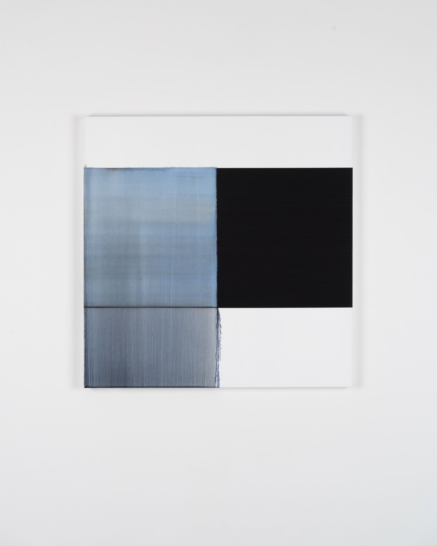 CALLUM INNES Exposed Painting Delft Blue, 2018