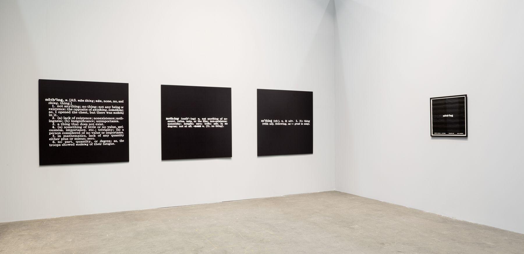Joseph Kosuth Art Unlimited