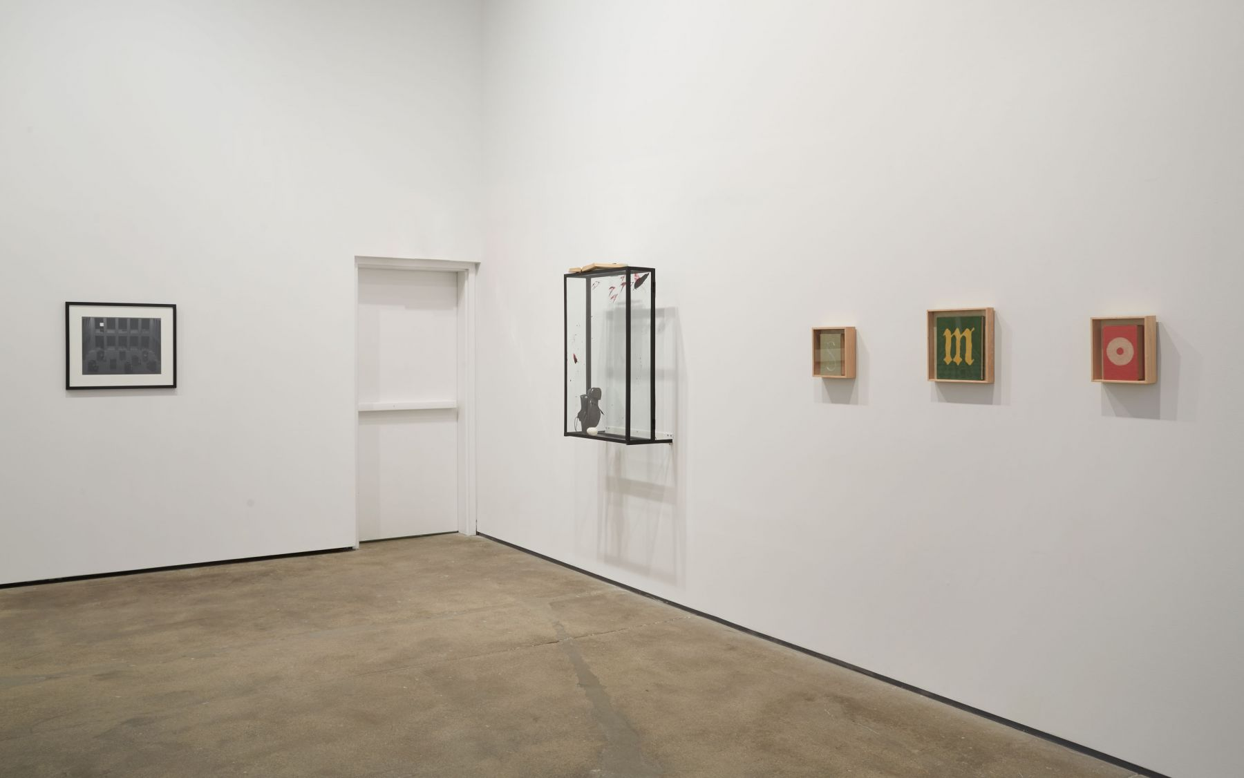 Installation view of By the Book at Sean Kelly, New York