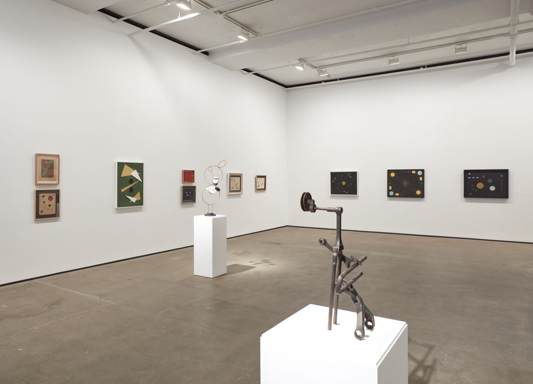 Installation view ofConstructing Her Universe: Loló Soldevillaat Sean Kelly, New York