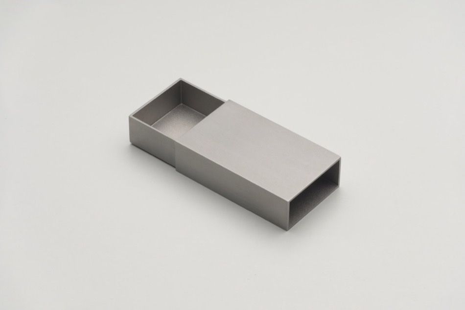 MATCHBOX, 2018, stainless steel