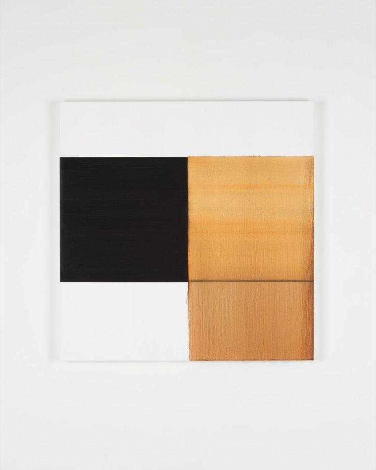 Exposed Painting Cadmium Orange Deep, 2019, oil on linen