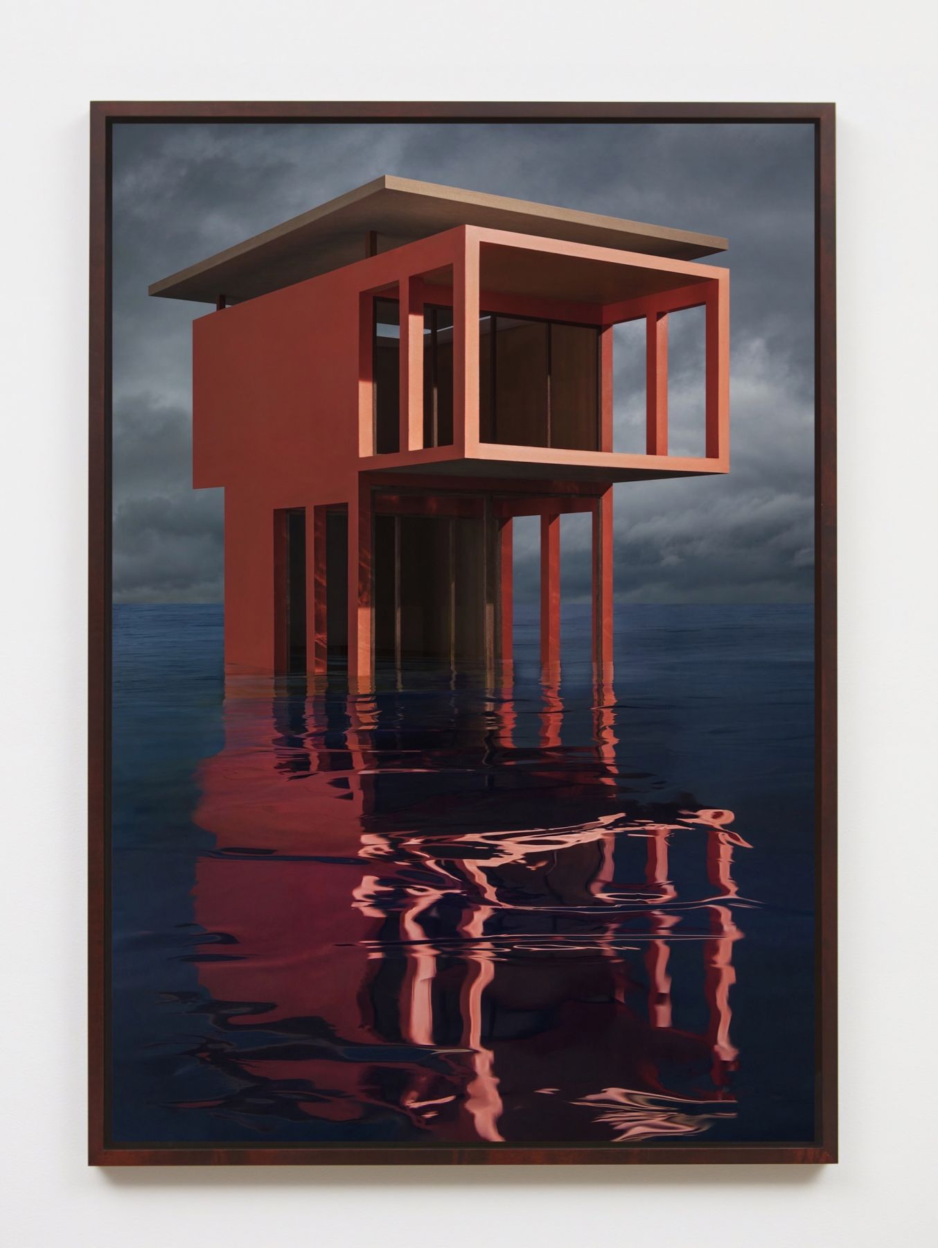 JAMES CASEBERE Red/Orange Solo Pavilion, 2018