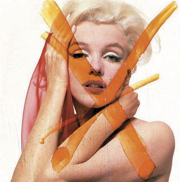 BERT STERN Marilyn Crucifix III, 1962